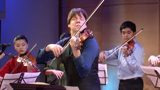 Joshua Bell And Young Arts Bach Concerto In A Minor Bwv 1041