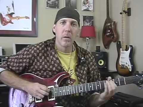 Guitar Lesson review Paul Reed Smith PRS electric guitar