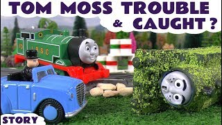 Thomas and Friends Game Gone Wrong for Tom Moss | Funny family friendly toys video for kids