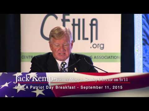 2015 Patriot Day Breakfast Keynote  - Jack Kemp