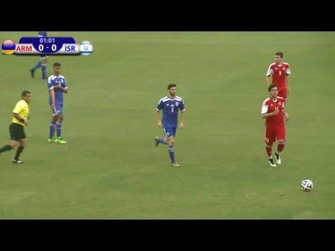 FFA/VSPORT/Մ19 Հայաստան - Մ19 Իսրայել/U19 Armenia vs U19 Israel/11.04.2016