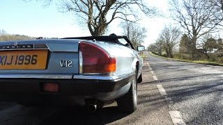 Jaguar XJS V12 Convertible Review