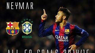 Neymar // All 50 Goals for Barcelona & Brazil 2014/15 // HD
