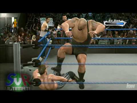 Smackdown Vs. Raw 2009: 6 Man Elimination Tag 2/2