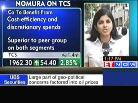 Nomura is bullish on Tata Consultancy Services