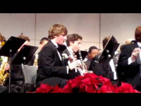 Archbishop Curley High School band concert Dec 2011