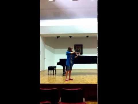J. S. Bach Adagio Z I Sonaty G-moll Na Skrzypce Solo