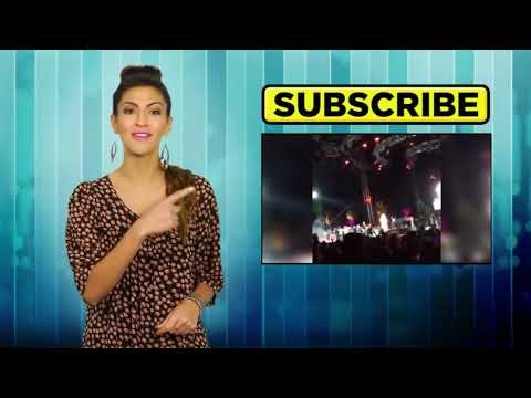 Justin Bieber Smoking & Dancing with Selena Gomez at Coachella 2014!