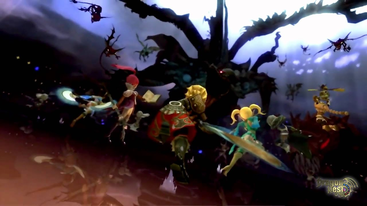 Dragon Nest New Title Theme Character Creation Music