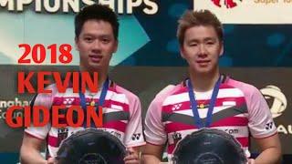 Skill-skill Kevin sanjaya s/Marcus f Gideon | sepanjang 3 tournament yang diikuti