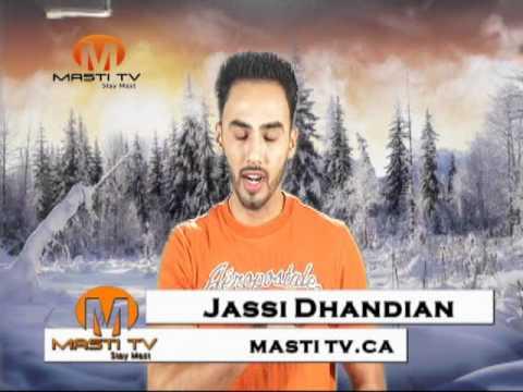 Amrinder Gill New Song Tu Juda Hoya Viakya Sahit By Jassi Dhandian Masti Tv Toronto Canada.wmv video