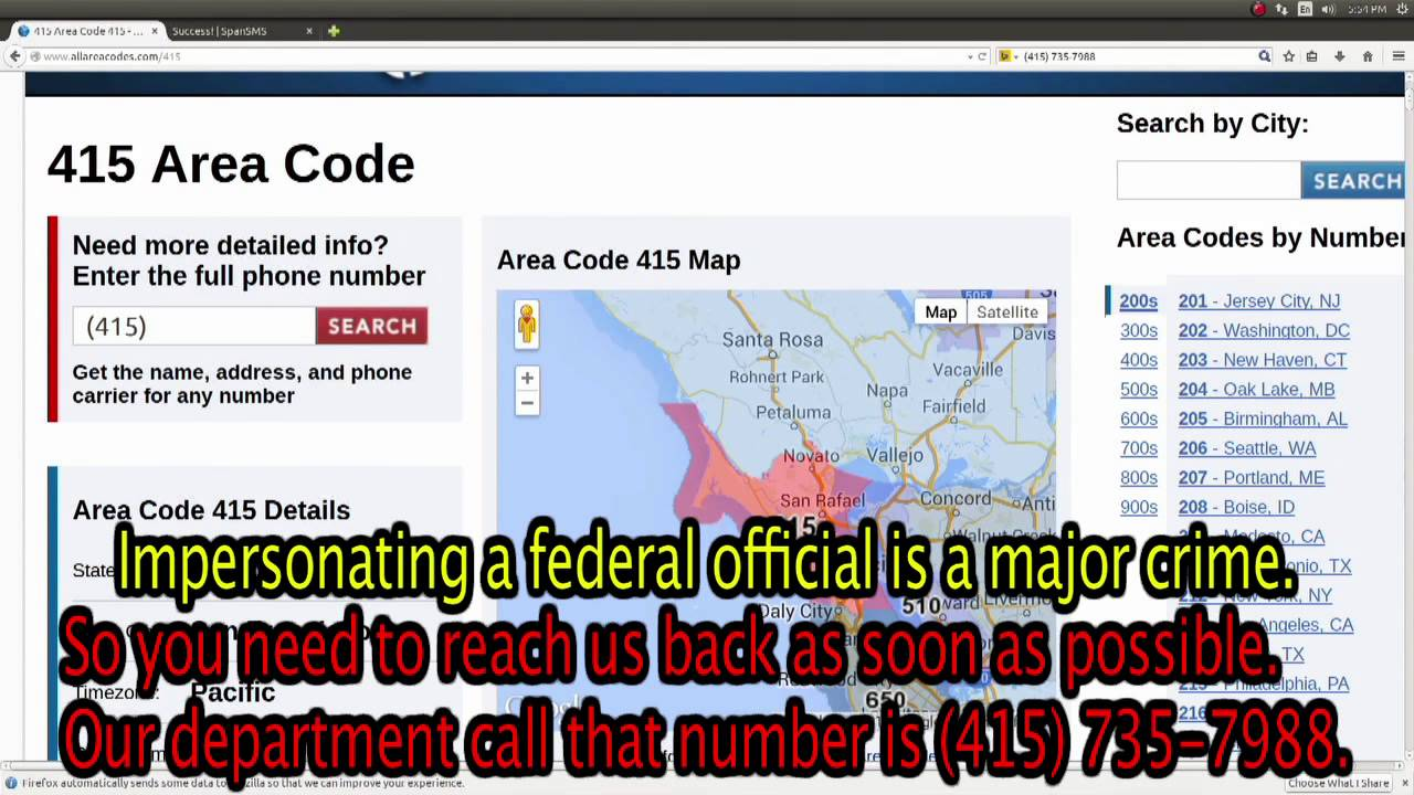 415 area code