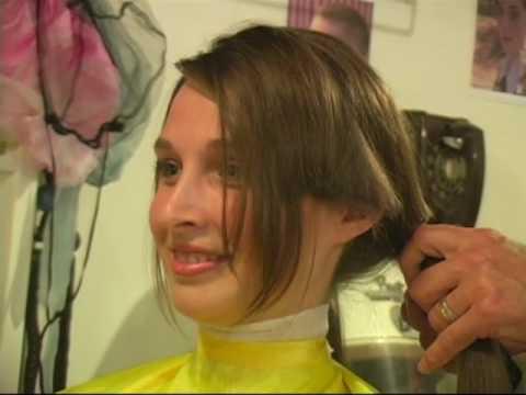 Alisons Boycut Haircut preview clip - YouTube