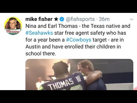 Earl Thomas to the Cowboys let the hate begin