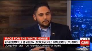 CNN panel gets destroyed by Hispanic American