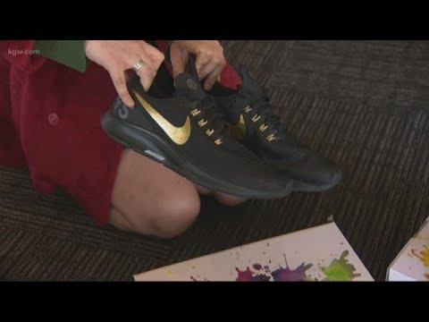 Teens design shoes to benefit Children's Cancer Association