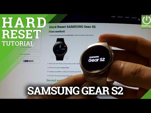 Hard Reset SAMSUNG Gear S2 - Factory Reset by Recovery Mode