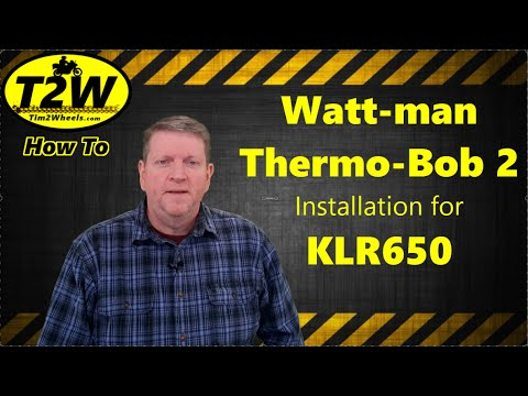 Installing the thermo bob on a 2008 klr650 overview for Thermo ply structural sheathing