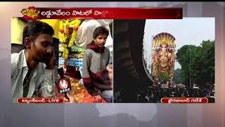 Ganesh Nimarjanam Continues At Tank Bund | Hyderabad