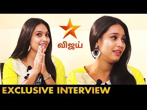 பயமாயிருக்குன்னு வீட்டுல சொல்லி அழுதேன் | Saravanan Meenakshi Raji | Actress Pavithra Interview