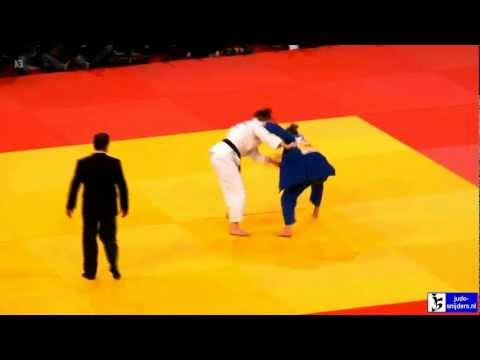Judo 2013 Grand Slam Paris: Polling (NED) - Zupancic (CAN) [-70kg] final