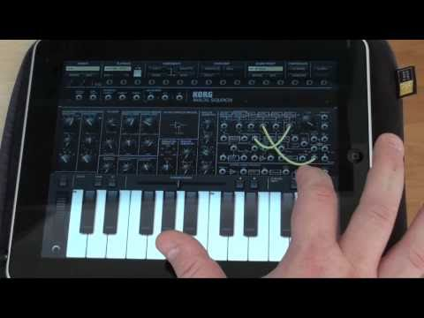 KORG iMS-20 for iPAD high quality sound