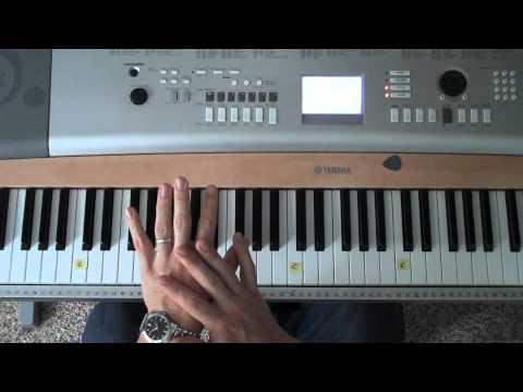 Easy-to-Play Piano - E, A, B, C#m Chords (Matt McCoy)