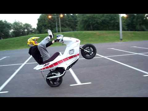 gilera runner scooter stunt RIP panels :'(