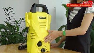 Hướng dẫn lắp đặt máy rửa xe Karcher K2 Compact Car