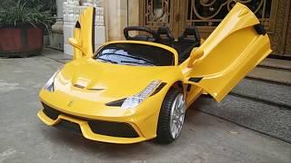 Xe ô tô điện trẻ em Ferrari FC-8858 | WWW.BONGKIDS.COM