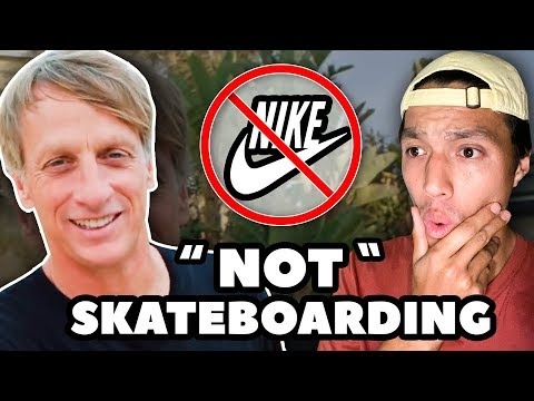 Why Tony Hawk Doesn't Ride for Nike