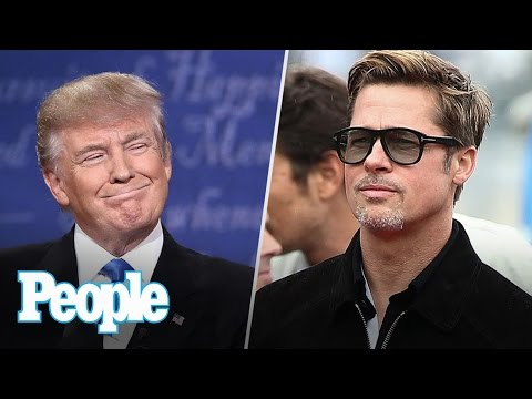 Donald Trump's Surprise Win Hits Hollywood, Brad Pitt's 1st Public Appearance | People NOW | People