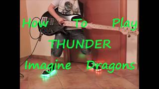 Download Lagu Imagine Dragons Thunder (BASS HOW TO PLAY LESSON COVER) Gratis STAFABAND