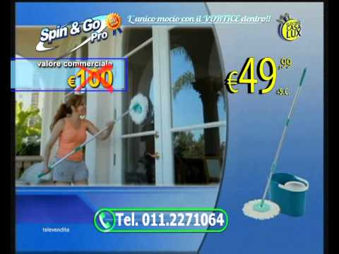 Spin & Go Pro Mocho per lavare i pavimenti
