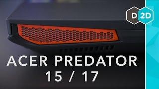Acer Predator 15 + 17 Review - Powerful Gaming Laptops