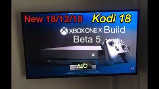 New Xbox Kodi 18 Leia Xbox 4 Xbox Build X, S