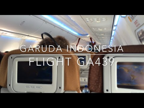 Eps.6 Garuda Indonesia flight GA439 from Denpasar to Jakarta (economy class)