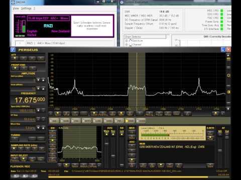 17675kHz Radio New Zealand International DRM. Received in JAPAN