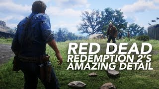 Red Dead Redemption 2's Amazing Details