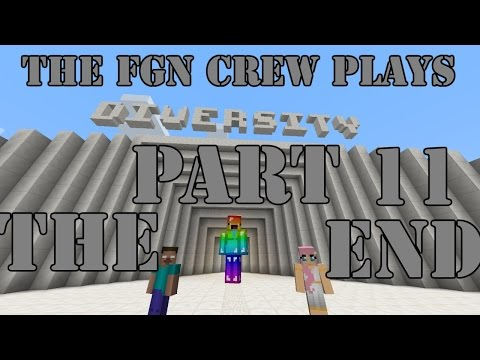 The FGN Crew Plays: Minecraft Diversity Part 11 - The End Boss Fight (PC)