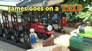 Enterprising Engines: James Goes on a Trip