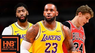 Los Angeles Lakers vs Chicago Bulls - Full Game Highlights | November 5, 2019-20 NBA Season