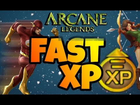 Arcane legends- HOW TO LVL UP FAST!! (LvL 41+)