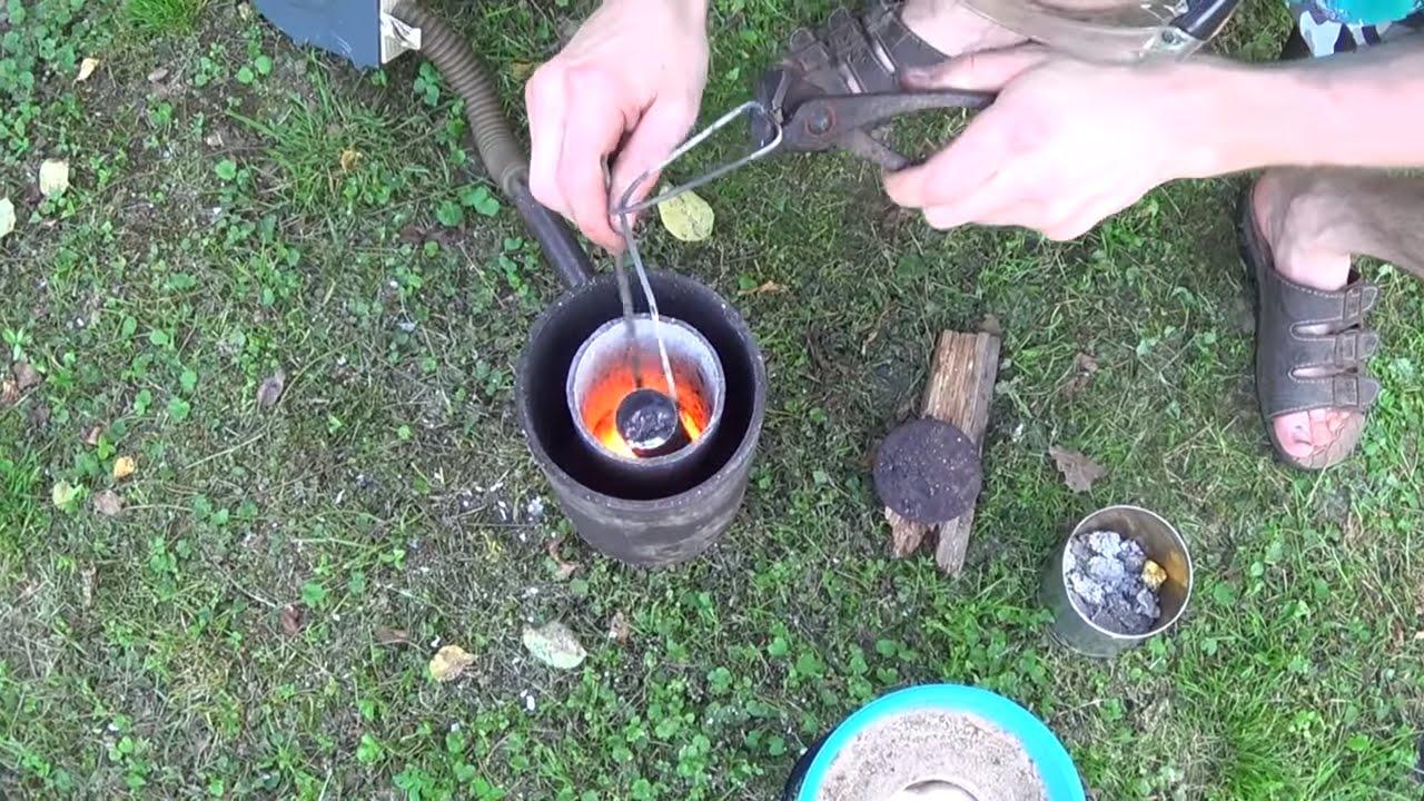 Как сделать печь для плавки а 784