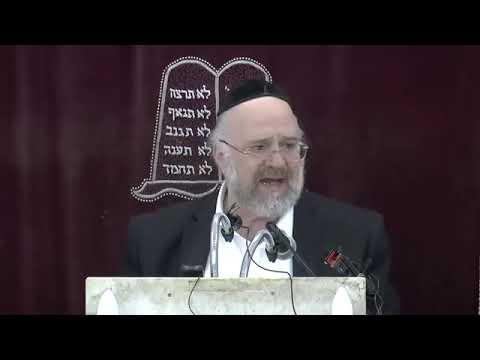 הרב ברוך רוזנבלום - פרשת כי תשא ה׳תשע״ט