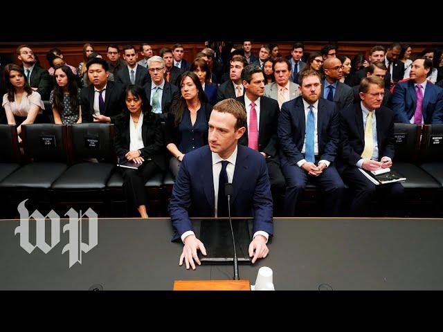 Mark Zuckerberg testifies on Capitol Hill full House hearing