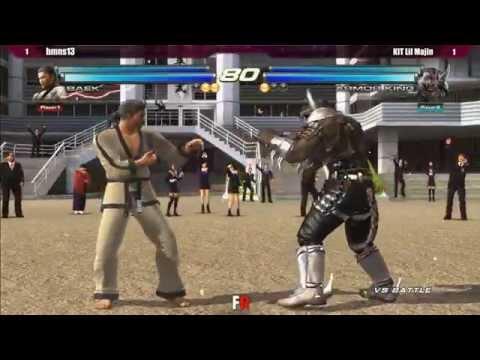 Final Round 18 - TTT2 - bmns13 (Hwoarang/Baek) vs KIT Lil Majin (Armor King/King)