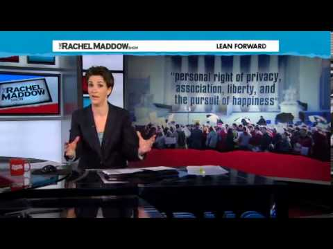 Rachel Maddow Dissects the Prop 8 Supreme Court Trial