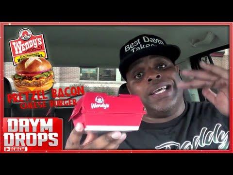 Wendy's Pretzel Bacon Cheeseburger Review