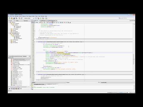 How to create a Simple Chat Client w/ GUI in JAVA #2